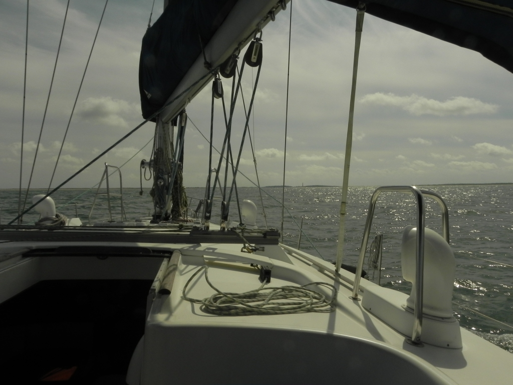 Heading for Cape Lookout