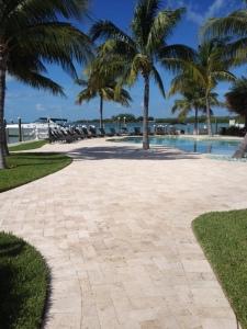 The marina pool