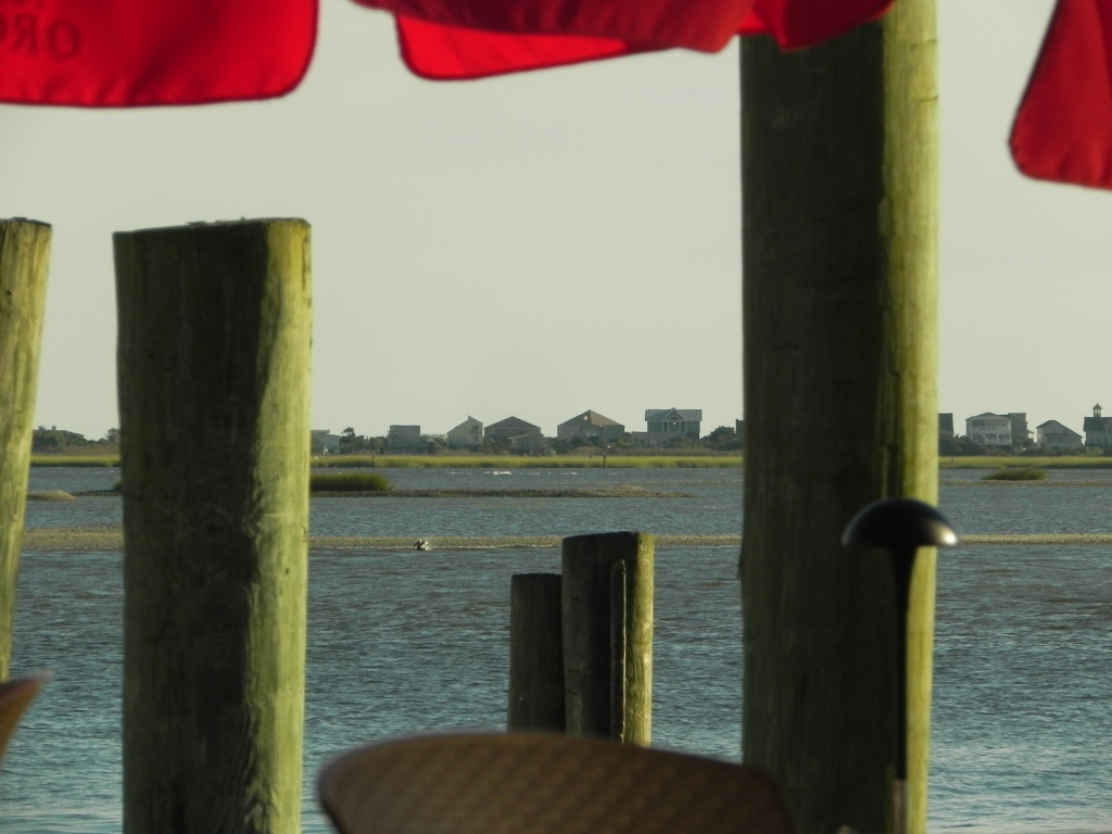 Bald Head Island through the eyes of a Southport bar
