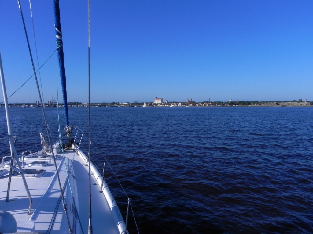 Approaching St. Augustine