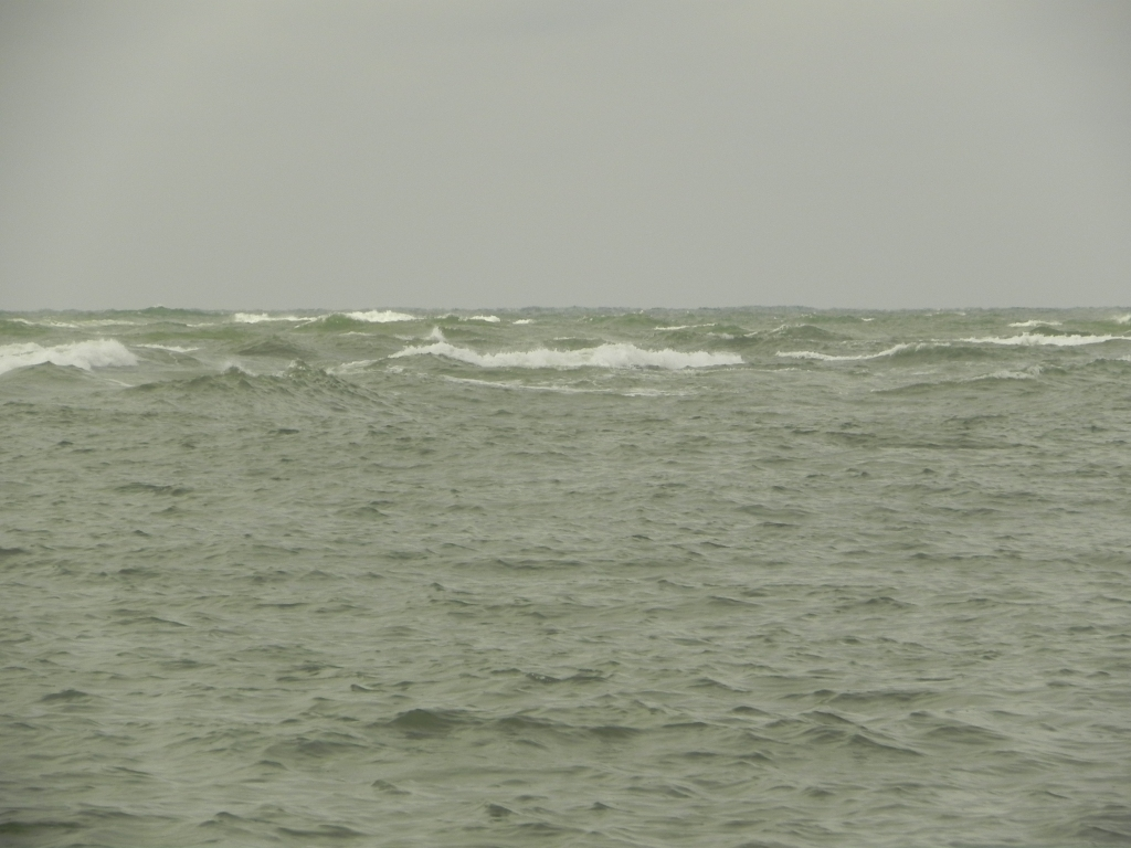 waves leaving Beaufort