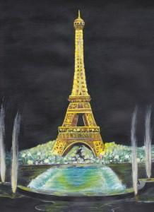 Eiffel Tower (acrylic)