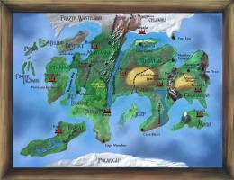 Steampunk Map (Corel Painter X3)